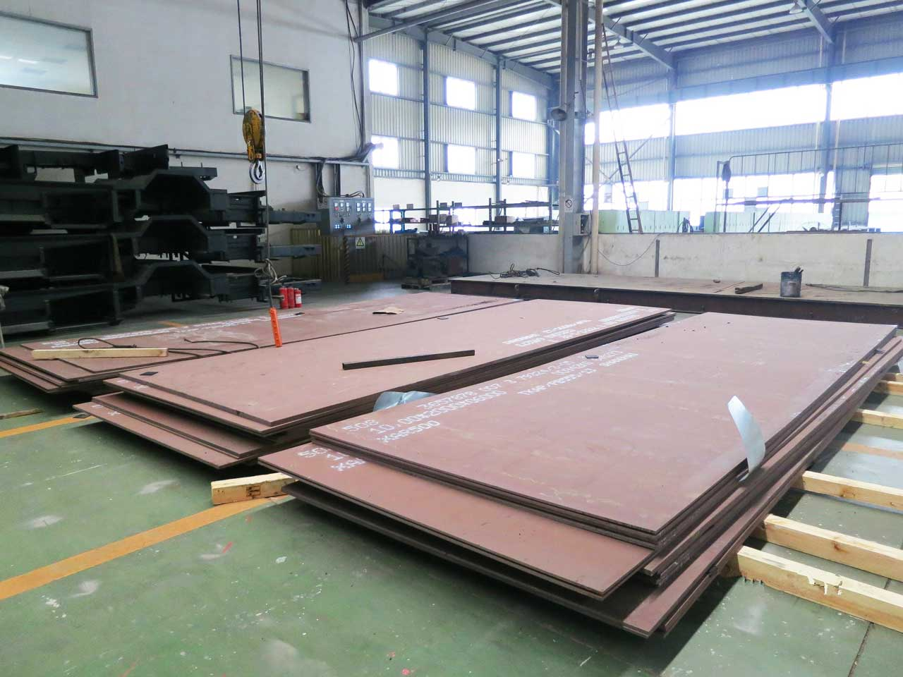 NM400 abrasion resistant steel plates