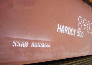 XAR500 Abrasion steel plate