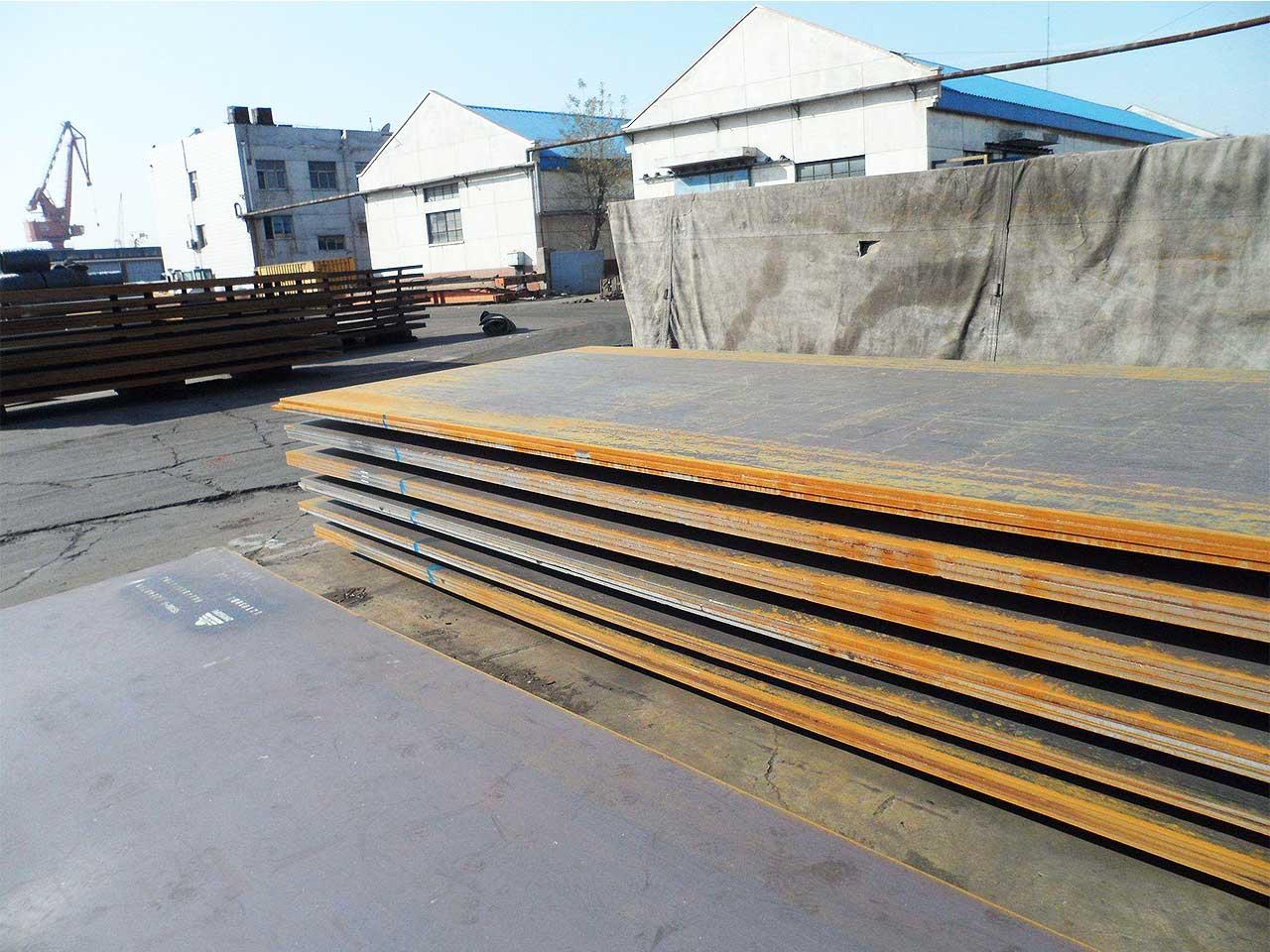 S235J0W Weather Resistant Steel Plate