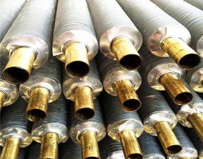 Spiral Copper Finned Tube