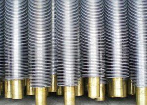 cooper tube finned tube for radiator