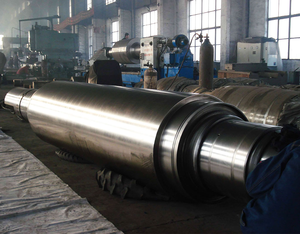 Forged Carbon Steel Step Shaft