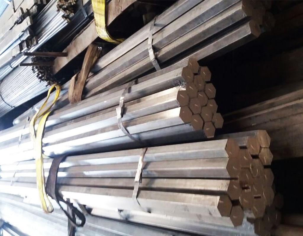 Cold drawn steel hexagon bar SAE1045