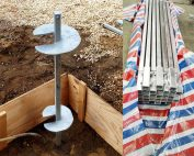 Square Bar Shaft Helical Piles